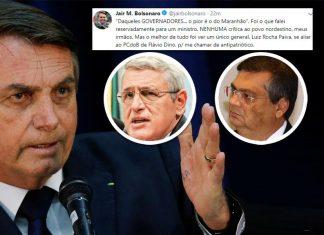 Bolsonaro mente sobre insulto a nordestinos e ataca general que o criticou