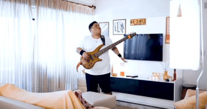 Júnior Groovador em vídeo promocional da sequência de Jumanji