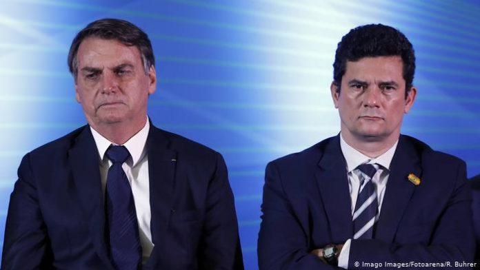 Apos videos, pesquisa indica que Moro fala mais a verdade do que Bolsonaro em troca de acusações