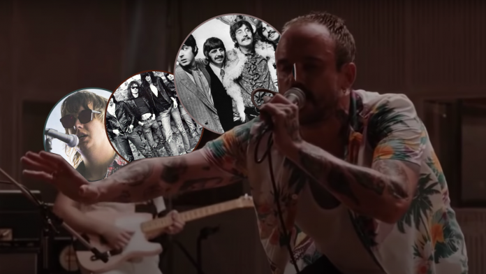 IDLES faz concerto ao vivo nos estúdios Abbey Road