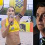 """Carol Solberg: Jogadora recebe ameaças após gritar """"fora, Bolsonaro"""""""