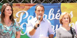 Rogerio Lins é candidato e atual prefeito de Osasco saído da prisão