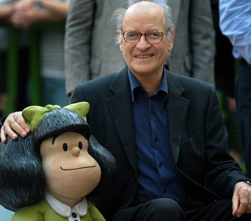Curiosidades sobre Criador da Mafalda, cartunista Quino que morreu aos 88 anos