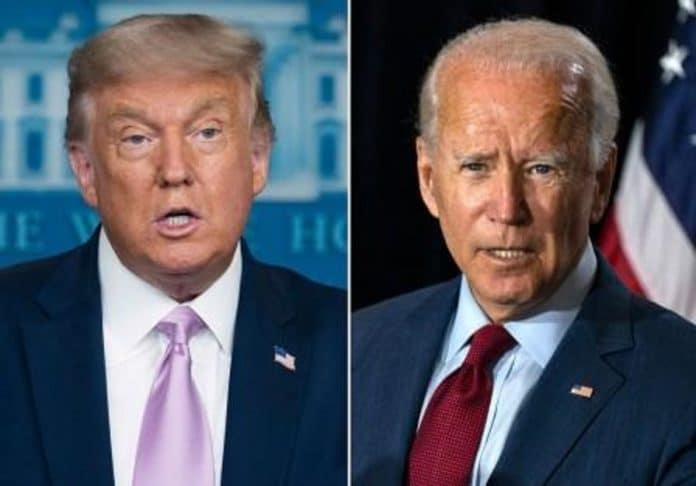 Trump diz que não irá participar de debate com Biden
