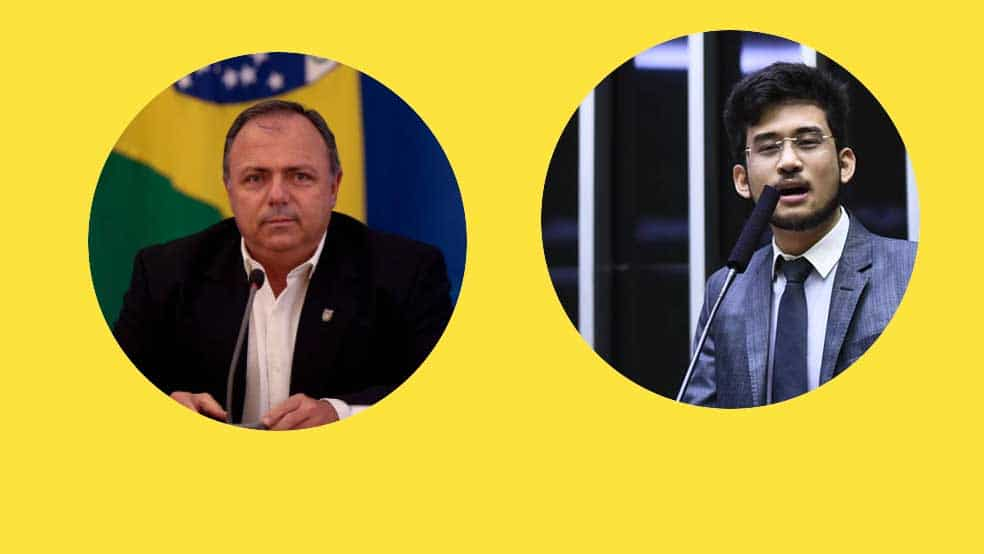 Ministro da Saúde - Eduardo Pazuello na mira do MBL e de Kim Kataguiri