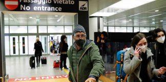 Cerca de 1,5 mil italianos estão bloqueados no Brasil