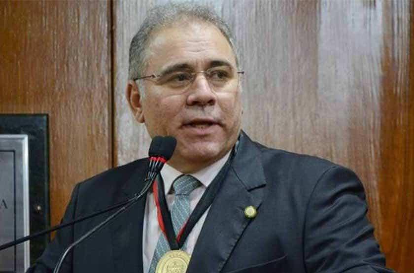Marcelo Queiroga - Bolsonaro anuncia criação de comitê contra pandemia