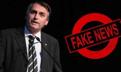 Bolsonaro volta a compartilhar fake news desta vez sobre o MTST